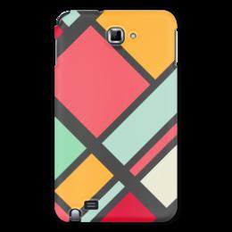 "Чехол для Samsung Galaxy Note ""Модерн"" - узор, стиль, орнамент, абстракция, модерн"