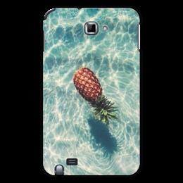 "Чехол для Samsung Galaxy Note ""Ананас"" - лето, вода, ананас, pineapple"