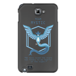 "Чехол для Samsung Galaxy Note ""Team Mystic"" - мультфильм, pokemon, покемон, мистик, mystic"