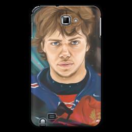 """Чехол для Samsung Galaxy Note """"Артемий Панарин"""" - хоккей, нхл, сборная россия по хоккею, артемий панарин"""