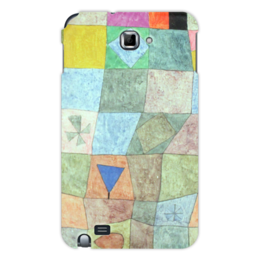 """Чехол для Samsung Galaxy Note """"Товарищеский матч"""" - картина, клее"""