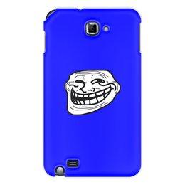 """Чехол для Samsung Galaxy Note """"Mem смех"""" - смех, приколы, лицо, мемы, mem"""