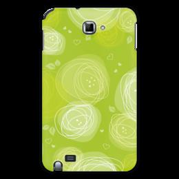 """Чехол для Samsung Galaxy Note """"Летняя абстракция"""" - лето, радость, зелень, абстракция"""