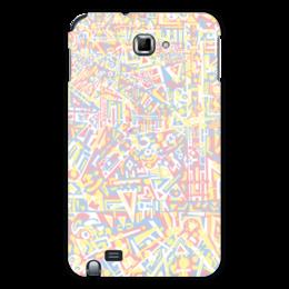 "Чехол для Samsung Galaxy Note ""plppgtysxxx132"" - арт, абстракция, узор, фигуры, текстура"