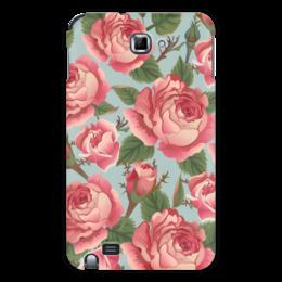 "Чехол для Samsung Galaxy Note ""Розалия"" - цветы, розы"