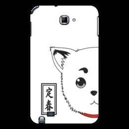 "Чехол для Samsung Galaxy Note ""Гинтама. Садахару"" - аниме, манга, gintama, гинтама, садахару"