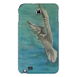"""Чехол для Samsung Galaxy Note """"Чайка"""" - море, чайка, свобода, летать"""