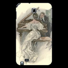 "Чехол для Samsung Galaxy Note ""День Святого Валентина"" - настроение, картина, винтаж, 14фев, harrison fisher"