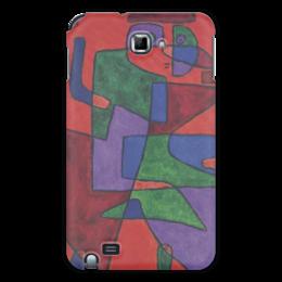 """Чехол для Samsung Galaxy Note """"Будущее (Пауль Клее)"""" - картина, живопись, клее"""