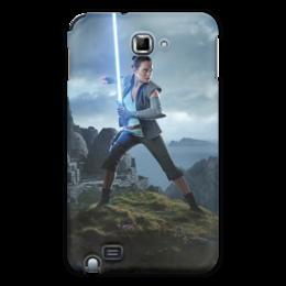 """Чехол для Samsung Galaxy Note """"Звездные войны - Рей"""" - звездные войны, фантастика, кино, дарт вейдер, star wars"""