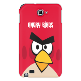"Чехол для Samsung Galaxy Note ""Angry Birds (Terence)"" - terence, злые птички, angry birds, мультфильм, компьютерная игра"