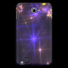 "Чехол для Samsung Galaxy Note ""Световая фантазия"" - абстракция, свет, фантазия"