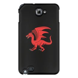 """Чехол для Samsung Galaxy Note """"дракон"""" - крылья, животные, дракон, dragon, динозавр"""