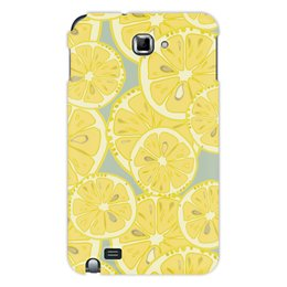 """Чехол для Samsung Galaxy Note """"лимоны"""" - лето, фрукты, лимон, лимоны, цитрусовые"""