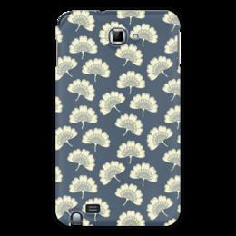"""Чехол для Samsung Galaxy Note """"Цветочный"""" - стиль, цветы, узор, орнамент, рисунок"""