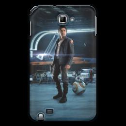 """Чехол для Samsung Galaxy Note """"Звездные войны - По Дамерон"""" - фантастика, звездные войны, дарт вейдер, кино, star wars"""