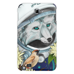 "Чехол для Samsung Galaxy Note ""Cosmo-fox"" - арт, space, космос, bird, лис, fox, лиса"