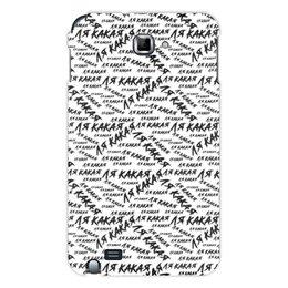 """Чехол для Samsung Galaxy Note """"ЛЯ КАКАЯ """" - юмор, надписи, мемы, meme, ля какая"""