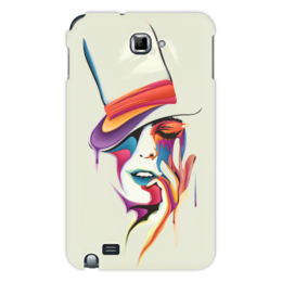 "Чехол для Samsung Galaxy Note ""Образ Леди "" - девушка, леди"