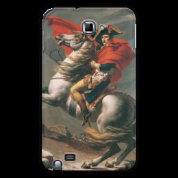 "Чехол для Samsung Galaxy Note ""Наполеон на перевале Сен-Бернар (Жак-Луи Давид)"" - картина, давид"