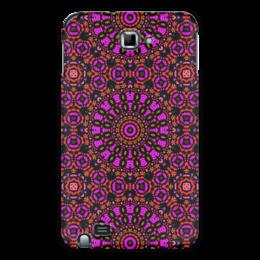 "Чехол для Samsung Galaxy Note ""purple"" - арт, узор, фиолетовый, абстракция, фигуры"
