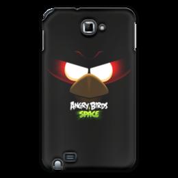 "Чехол для Samsung Galaxy Note ""Space (Angry Birds)"" - space, игра, мультфильм, птица, angry birds"