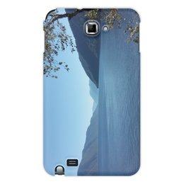 """Чехол для Samsung Galaxy Note """"Удивительный Алтай"""" - лето, lake, телецкое озеро, горный, алтай"""