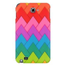 """Чехол для Samsung Galaxy Note """"Papercraft style"""" - абстракция, геометрия, линии, papercraft"""