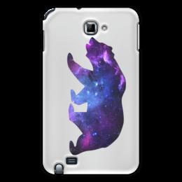 "Чехол для Samsung Galaxy Note ""Space animals"" - space, bear, медведь, космос, астрономия"