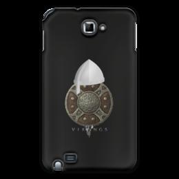 """Чехол для Samsung Galaxy Note """"Викинги. Vikings"""" - воин, средневековье, оружие, викинг, рыцари"""