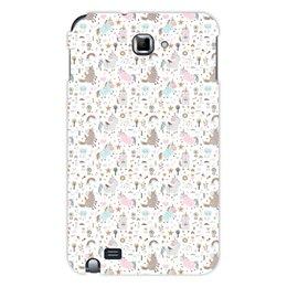 """Чехол для Samsung Galaxy Note """"Единороги"""" - животные, лошадь, радуга, мульт, единорог"""