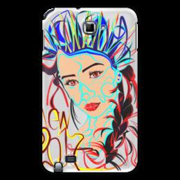 "Чехол для Samsung Galaxy Note ""Снегурочка New 2017"" - снегурочка"