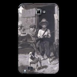 "Чехол для Samsung Galaxy Note ""Slim Finnegan"" - картина, роквелл"