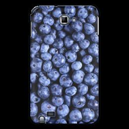 "Чехол для Samsung Galaxy Note ""Черника"" - ягоды, blueberry"