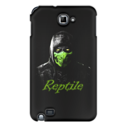 "Чехол для Samsung Galaxy Note ""Reptile"" - ninja, reptile, mortal, kombat"