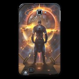 """Чехол для Samsung Galaxy Note """"Starpoint Gemini Warlords"""" - starpoint gemini warlords, планета, космос, взрыв, компьютерная игра"""