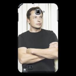 """Чехол для Samsung Galaxy Note """"Илон Маск"""" - космос, маск, spacex, вселенная, thespaceway"""