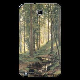 "Чехол для Samsung Galaxy Note ""Ручей в лесу"" - картина, шишкин"