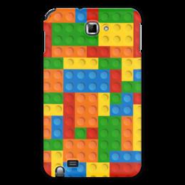 """Чехол для Samsung Galaxy Note """"Конструктор Лего"""" - рисунок, игрушка, конструктор, детский рисунок, лего"""