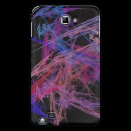 """Чехол для Samsung Galaxy Note """"Абстрактный дизайн"""" - графика, абстракция, лучи, авангард, линии"""