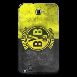 """Чехол для Samsung Galaxy Note """"Borussia Dortmund"""" - футбол, популярные, в подарок, оригинально"""