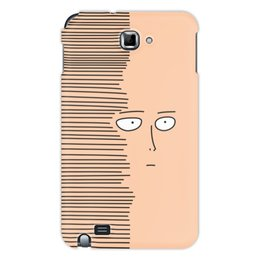 "Чехол для Samsung Galaxy Note ""Сайтам"" - аниме, saitama, сайтама, one punch man, ванпанчмен"
