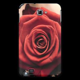 """Чехол для Samsung Galaxy Note """"цветы"""" - n-a-v"""