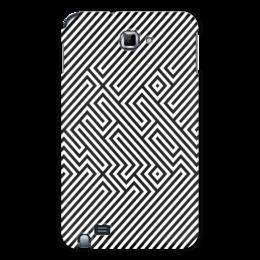 """Чехол для Samsung Galaxy Note """"Space Invaders"""" - игры, стиль, ретро, графика, оригинально, популярные игры, dendy, video game, space invaders"""