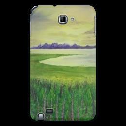 "Чехол для Samsung Galaxy Note ""Прованс"" - цветы, франция, лаванда, прованс"