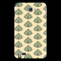 """Чехол для Samsung Galaxy Note """"Цветочный"""" - цветочный, узор, рисунок, стиль, орнамент"""