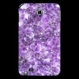 "Чехол для Samsung Galaxy Note ""Магия аметиста"" - фиолетовый, камень, магия, аметист"