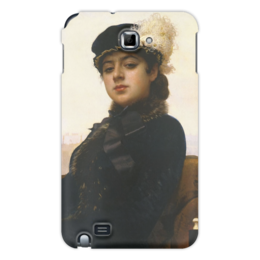"Чехол для Samsung Galaxy Note ""Неизвестная (картина Крамского)"" - картина, крамской"