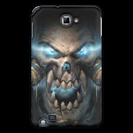 "Чехол для Samsung Galaxy Note ""WarCraft Collection"" - wow, warcraft, world of warcraft, варкрафт, нежить"