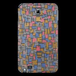 "Чехол для Samsung Galaxy Note ""Композиция (Питер Мондриан)"" - картина, живопись, мондриан"